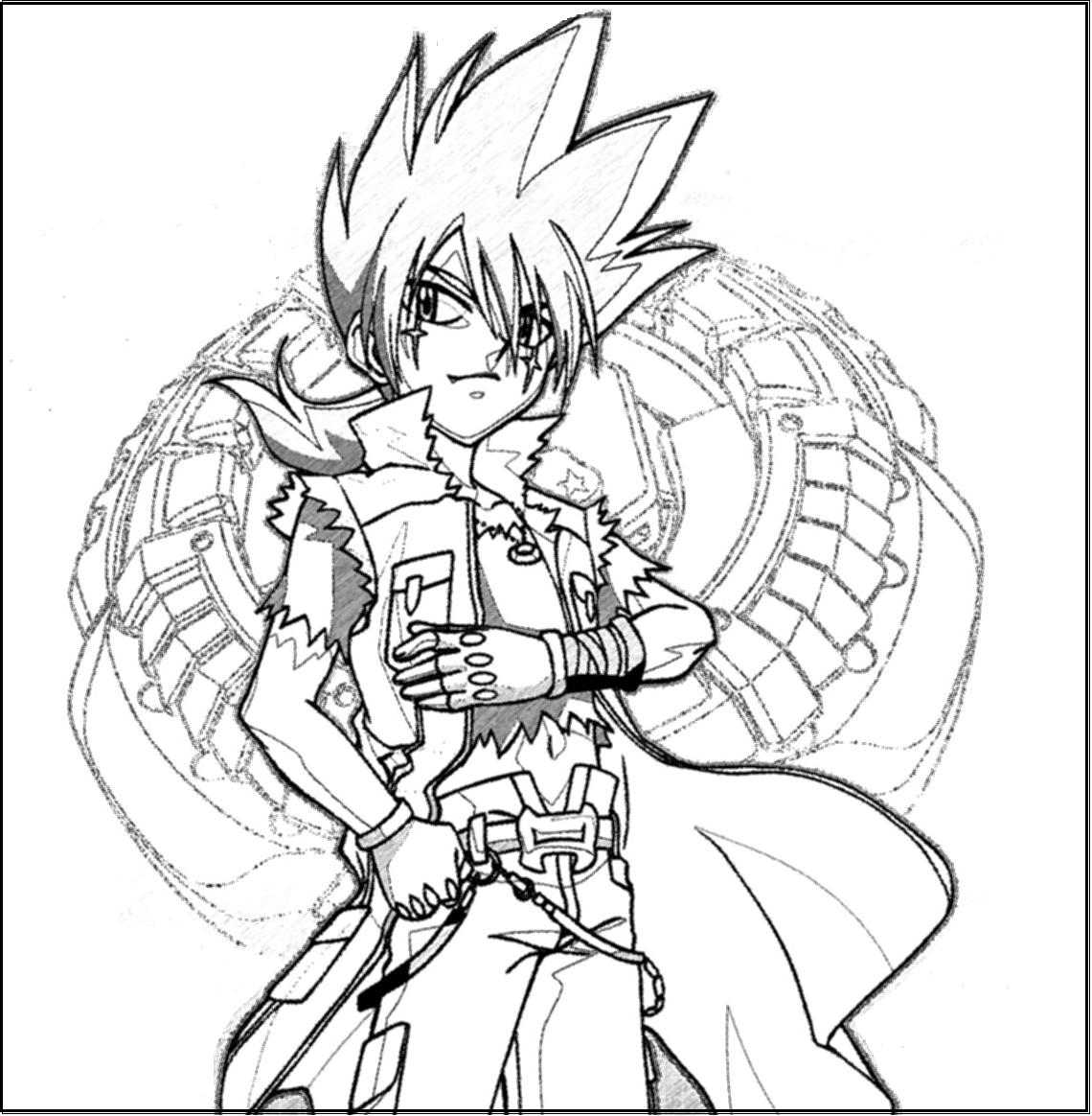 beyblade coloring pages ldrago guardian - photo#20